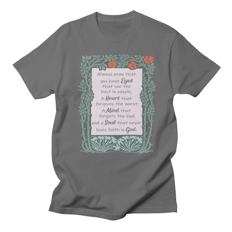 Eyes Heart Mind and Soul Men's T-Shirt by Moon Joggers's Artist Shop