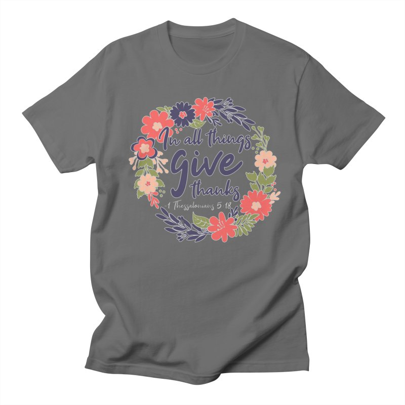 Give Thanks Men's T-Shirt by Moon Joggers's Artist Shop
