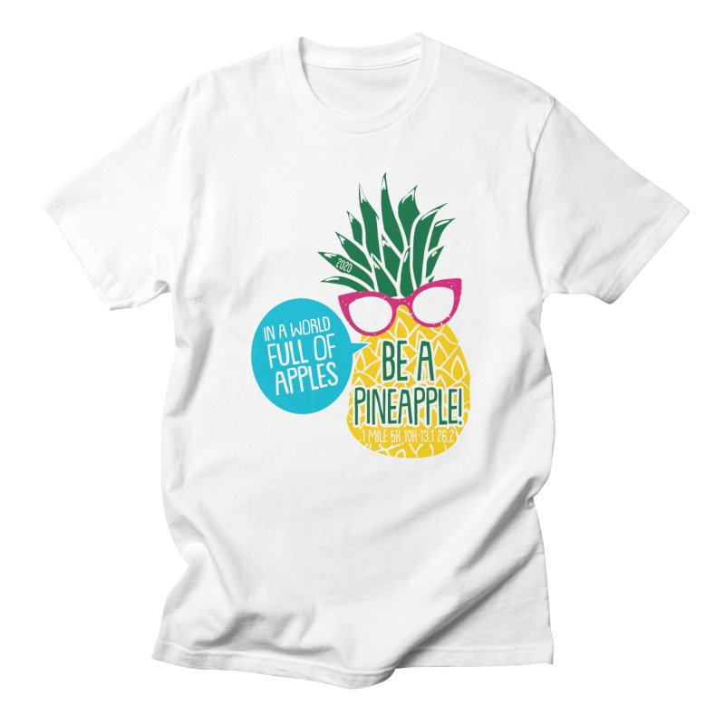 Be a Pineapple Men's T-Shirt by Moon Joggers's Artist Shop