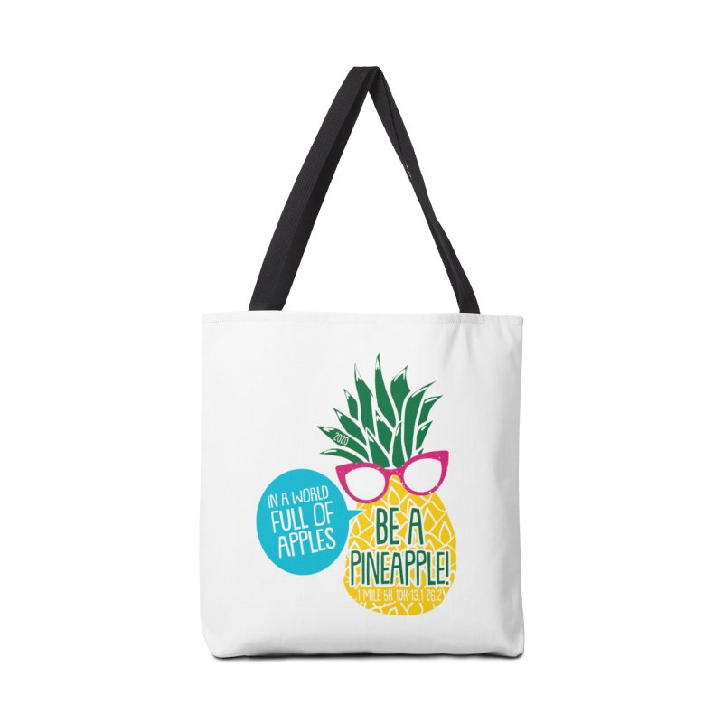 Be a Pineapple Accessories Tote Bag Bag by Moon Joggers's Artist Shop