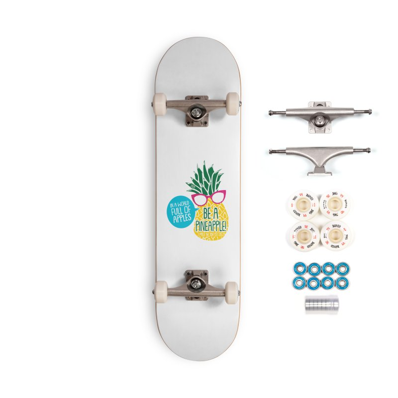 Be a Pineapple Accessories Complete - Premium Skateboard by Moon Joggers's Artist Shop
