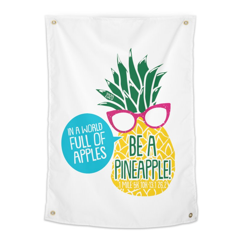 Be a Pineapple Home Tapestry by Moon Joggers's Artist Shop