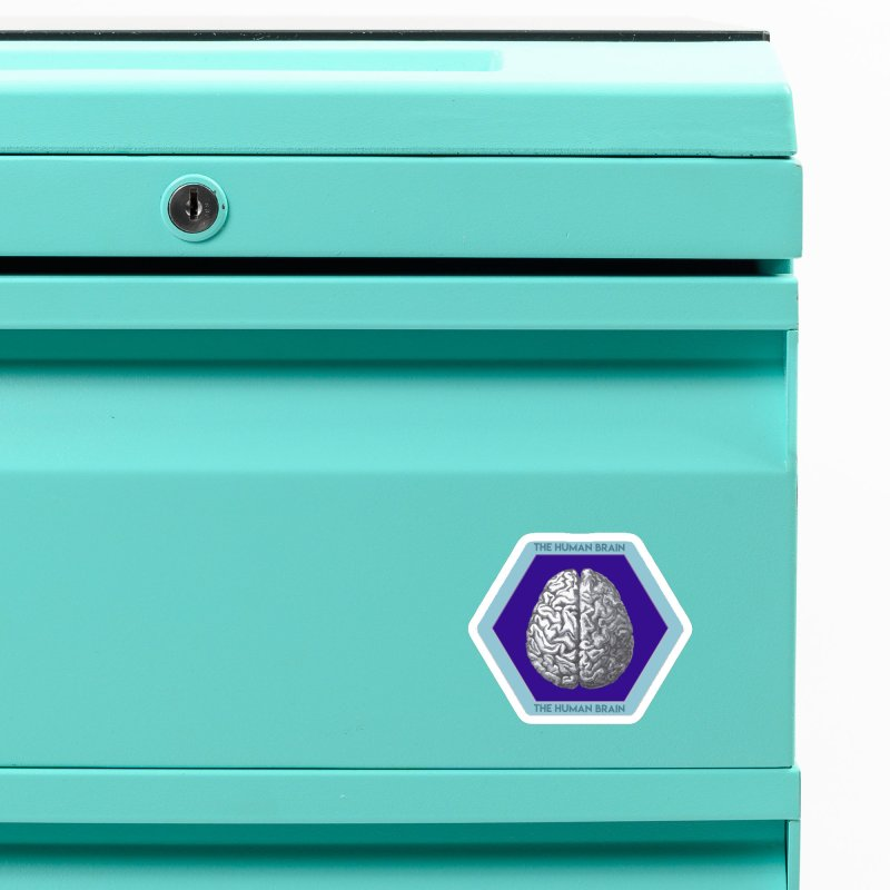 The Human Brain Accessories Magnet by Moon Joggers's Artist Shop