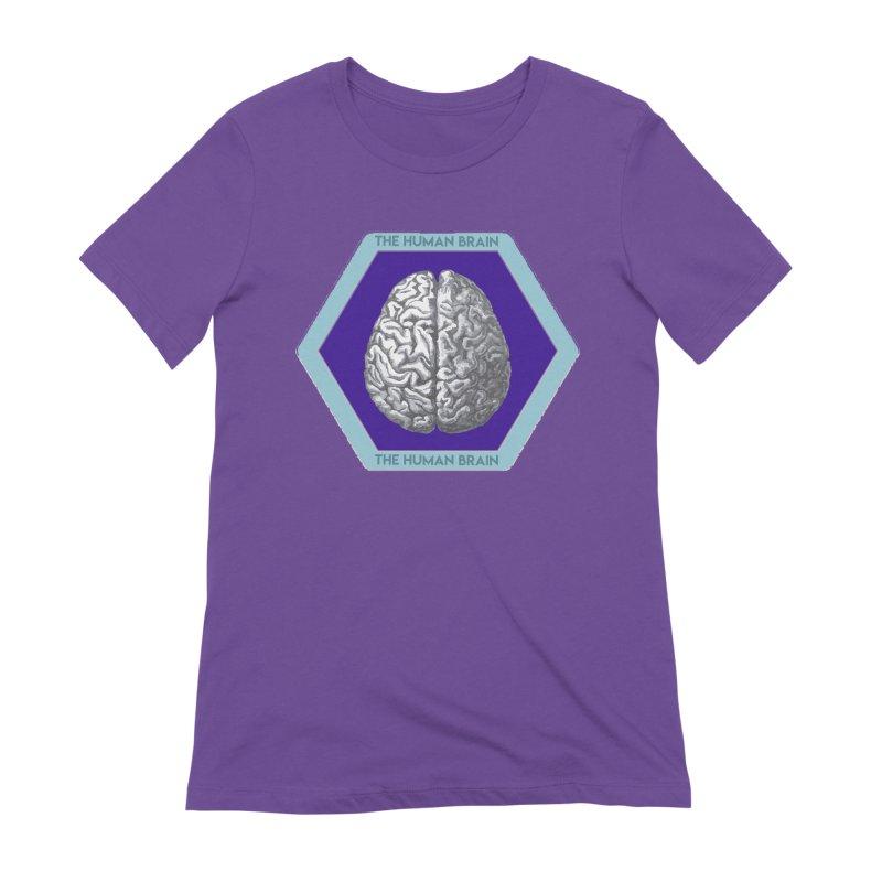 The Human Brain Women's Extra Soft T-Shirt by Moon Joggers's Artist Shop