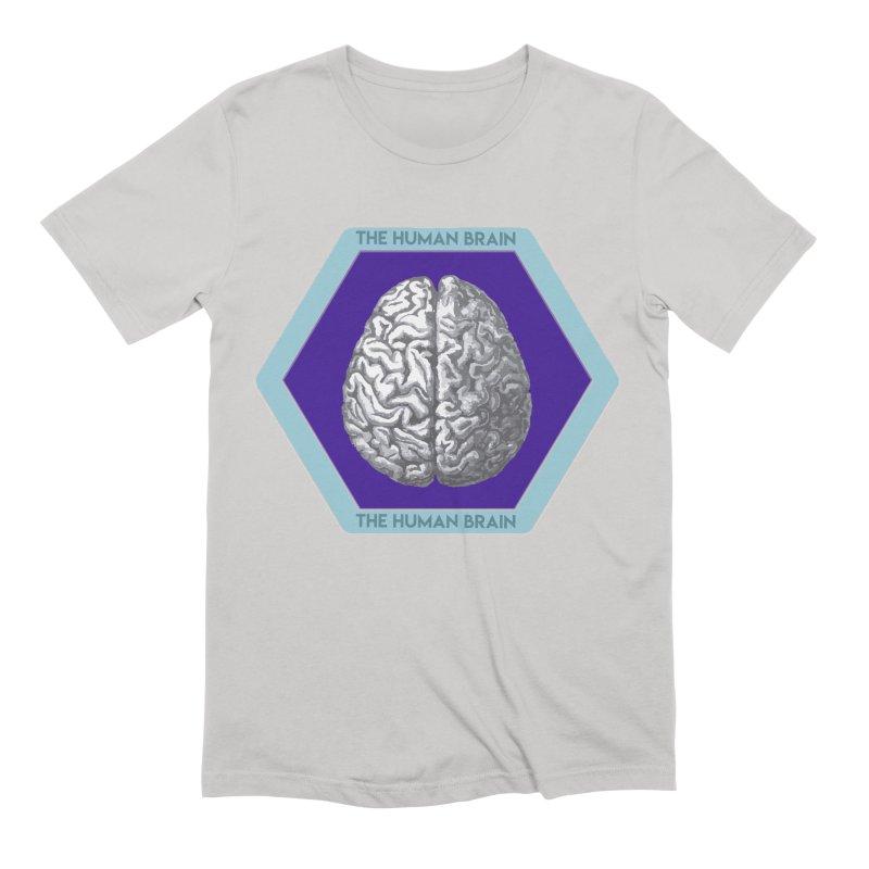 The Human Brain Men's Extra Soft T-Shirt by Moon Joggers's Artist Shop