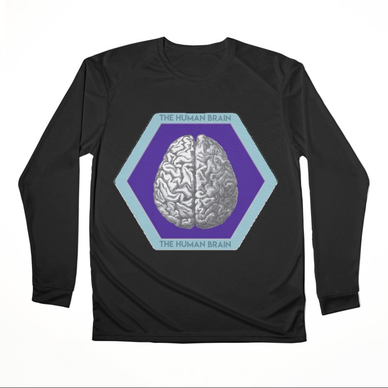 The Human Brain Women's Performance Unisex Longsleeve T-Shirt by Moon Joggers's Artist Shop