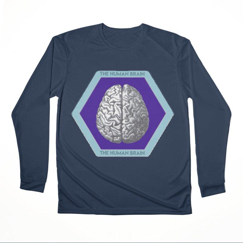 The Human Brain Men's Performance Longsleeve T-Shirt by Moon Joggers's Artist Shop