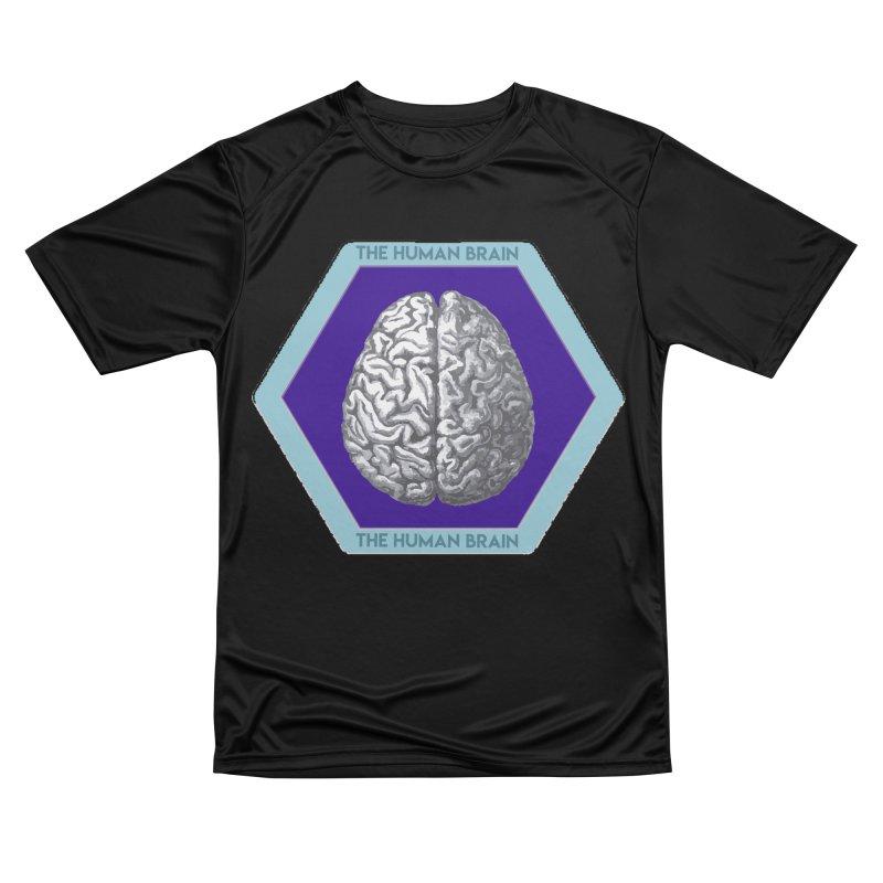 The Human Brain Women's Performance Unisex T-Shirt by Moon Joggers's Artist Shop