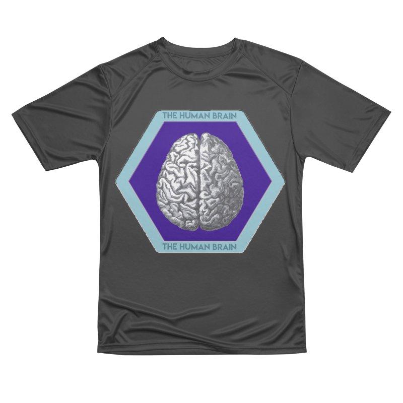 The Human Brain Men's Performance T-Shirt by Moon Joggers's Artist Shop