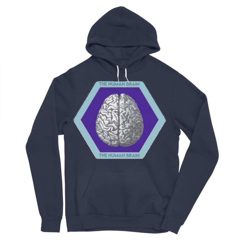 The Human Brain Men's Sponge Fleece Pullover Hoody by Moon Joggers's Artist Shop
