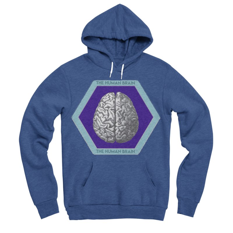 The Human Brain Women's Sponge Fleece Pullover Hoody by Moon Joggers's Artist Shop