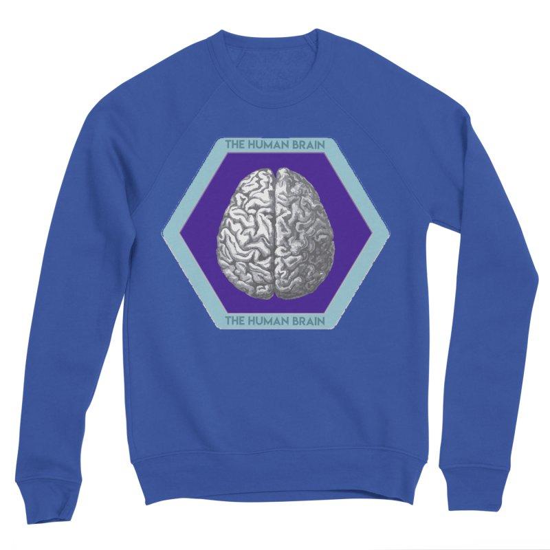 The Human Brain Men's Sponge Fleece Sweatshirt by Moon Joggers's Artist Shop