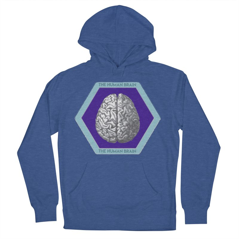 The Human Brain Women's French Terry Pullover Hoody by Moon Joggers's Artist Shop