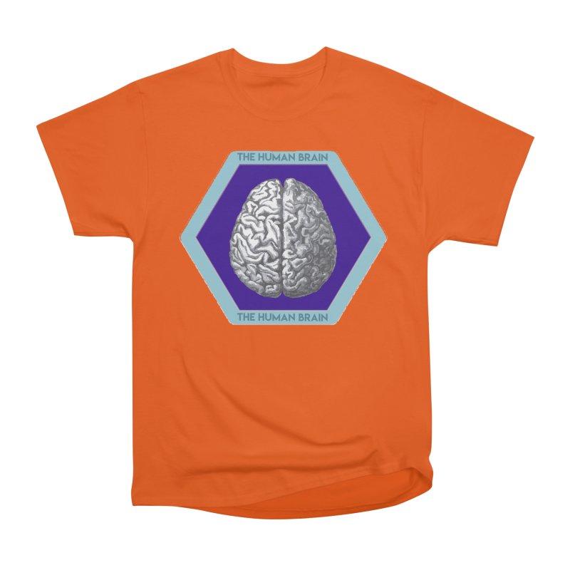 The Human Brain Women's Heavyweight Unisex T-Shirt by Moon Joggers's Artist Shop