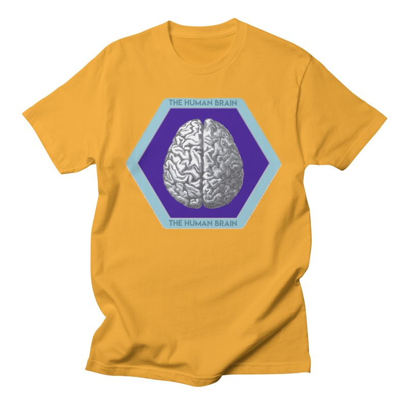 The Human Brain Women's Regular Unisex T-Shirt by Moon Joggers's Artist Shop