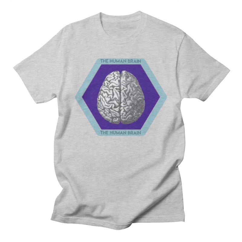 The Human Brain Men's Regular T-Shirt by Moon Joggers's Artist Shop