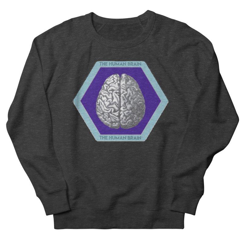 The Human Brain Women's French Terry Sweatshirt by Moon Joggers's Artist Shop