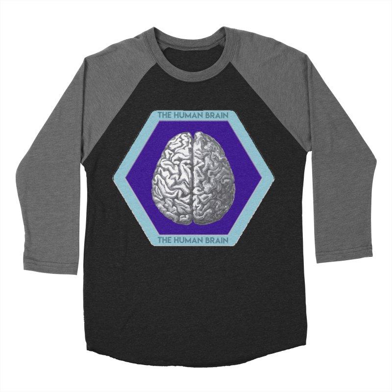 The Human Brain Women's Baseball Triblend Longsleeve T-Shirt by Moon Joggers's Artist Shop