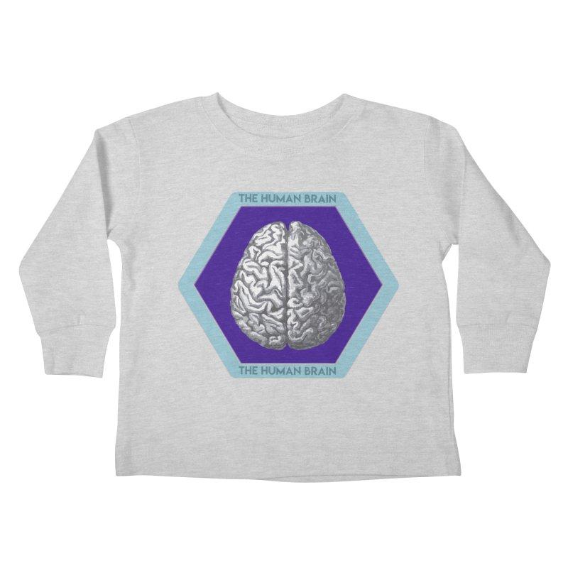 The Human Brain Kids Toddler Longsleeve T-Shirt by Moon Joggers's Artist Shop