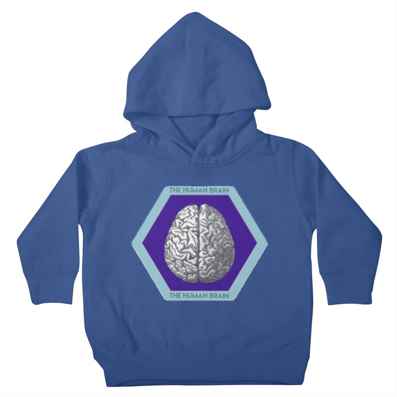 The Human Brain Kids Toddler Pullover Hoody by Moon Joggers's Artist Shop