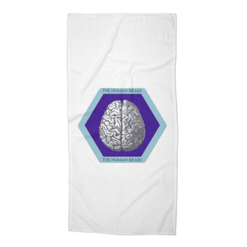 The Human Brain Accessories Beach Towel by Moon Joggers's Artist Shop