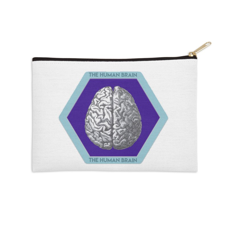 The Human Brain Accessories Zip Pouch by Moon Joggers's Artist Shop