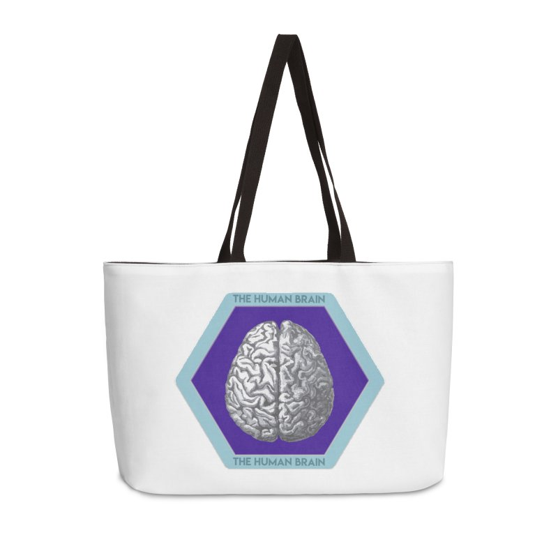 The Human Brain Accessories Weekender Bag Bag by Moon Joggers's Artist Shop