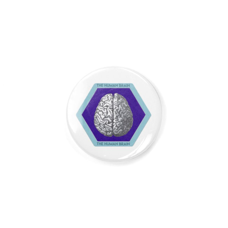The Human Brain Accessories Button by Moon Joggers's Artist Shop
