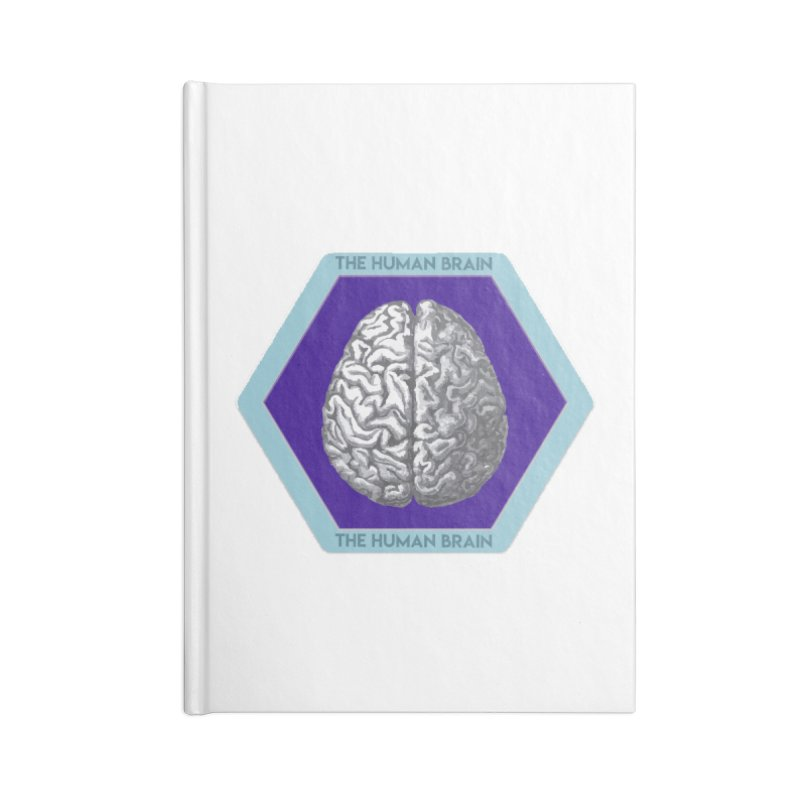 The Human Brain Accessories Blank Journal Notebook by Moon Joggers's Artist Shop