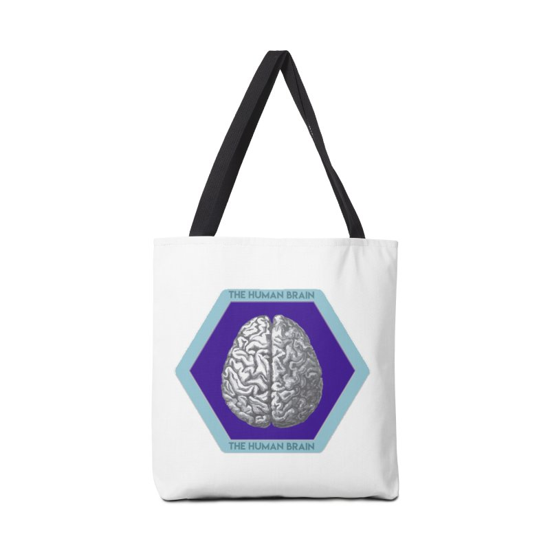 The Human Brain Accessories Tote Bag Bag by Moon Joggers's Artist Shop