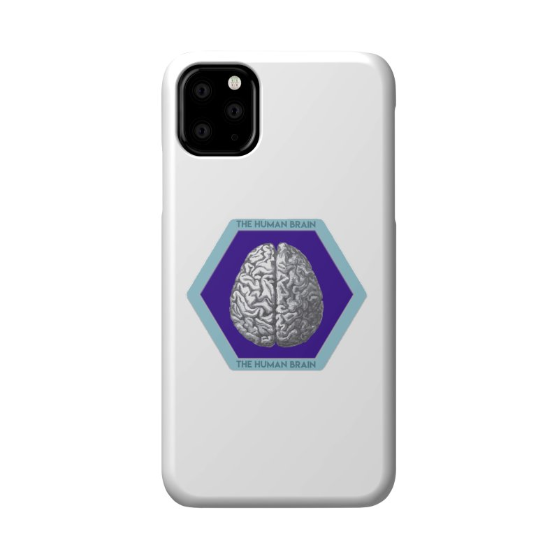 The Human Brain Accessories Phone Case by Moon Joggers's Artist Shop