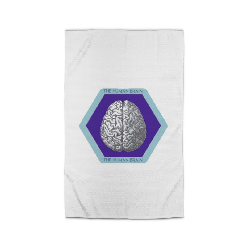 The Human Brain Home Rug by Moon Joggers's Artist Shop