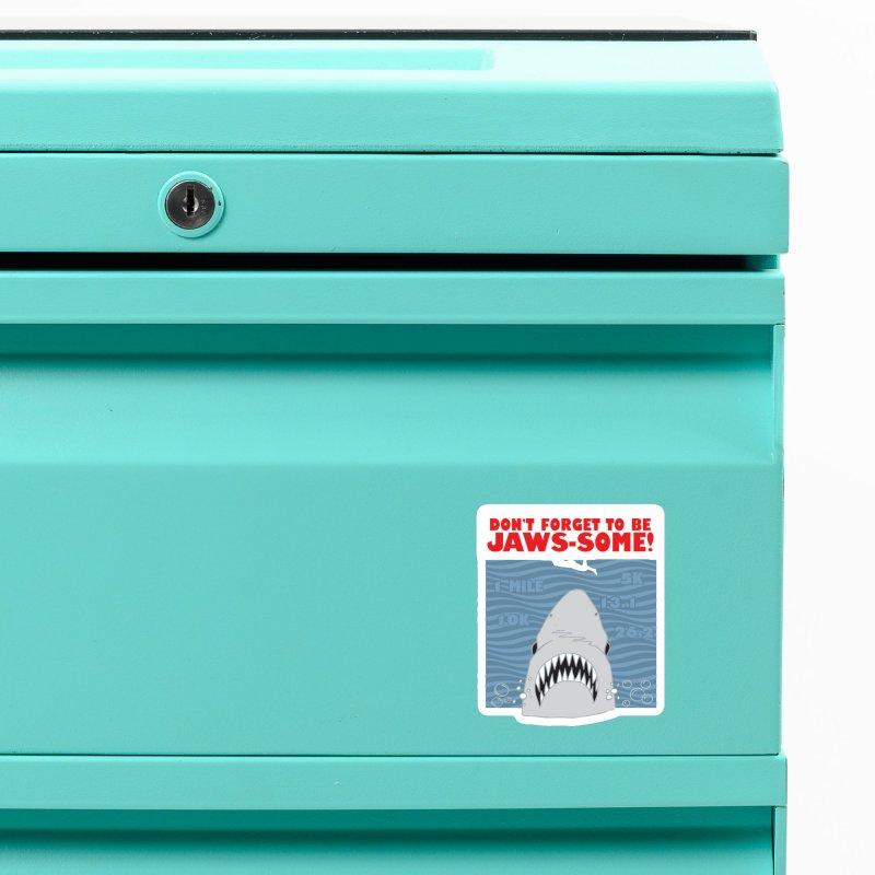Shark Bait Hoo Ha Ha: Be JAWSome! Accessories Magnet by Moon Joggers's Artist Shop