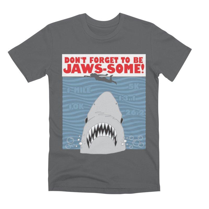 Shark Bait Hoo Ha Ha: Be JAWSome! Men's Premium T-Shirt by Moon Joggers's Artist Shop
