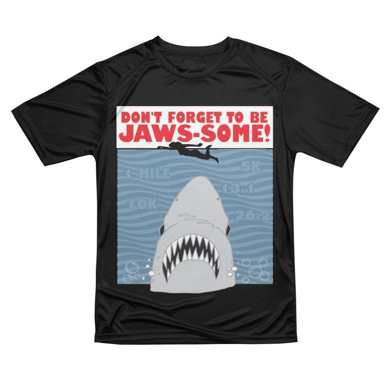 Shark Bait Hoo Ha Ha: Be JAWSome! Women's Performance Unisex T-Shirt by Moon Joggers's Artist Shop