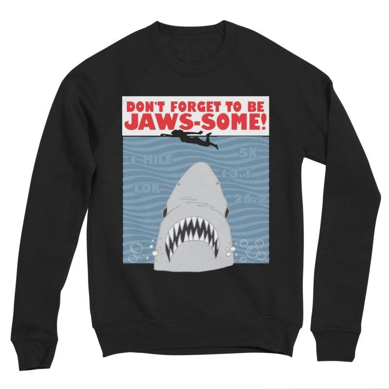 Shark Bait Hoo Ha Ha: Be JAWSome! Men's Sponge Fleece Sweatshirt by Moon Joggers's Artist Shop