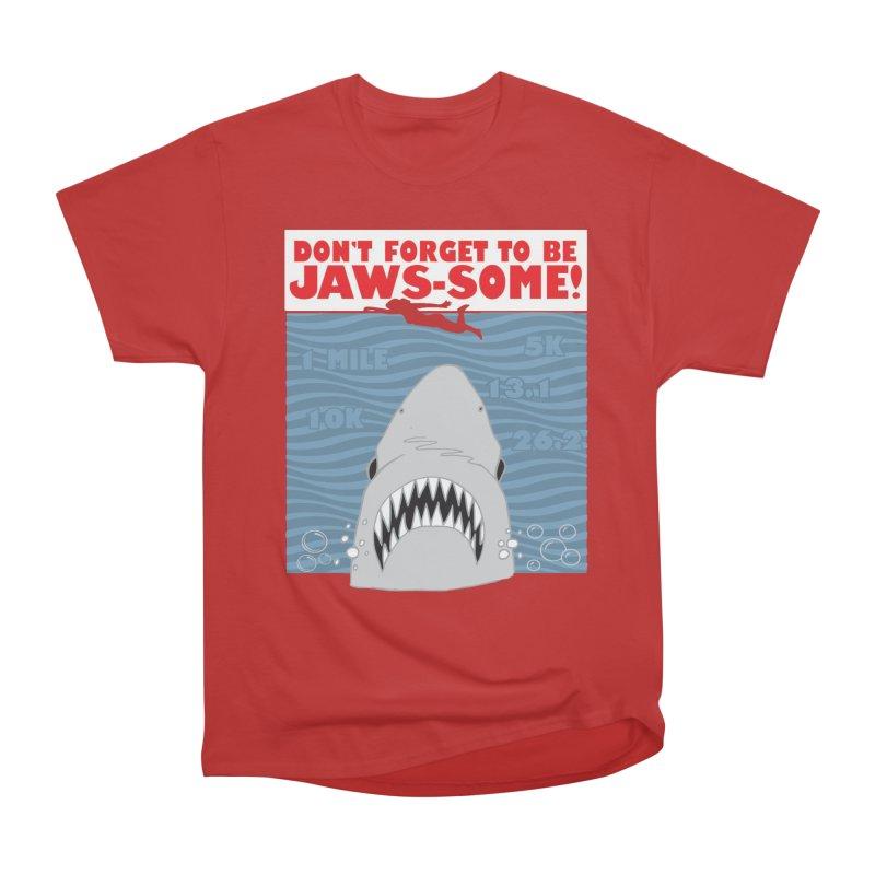 Shark Bait Hoo Ha Ha: Be JAWSome! Men's Heavyweight T-Shirt by Moon Joggers's Artist Shop