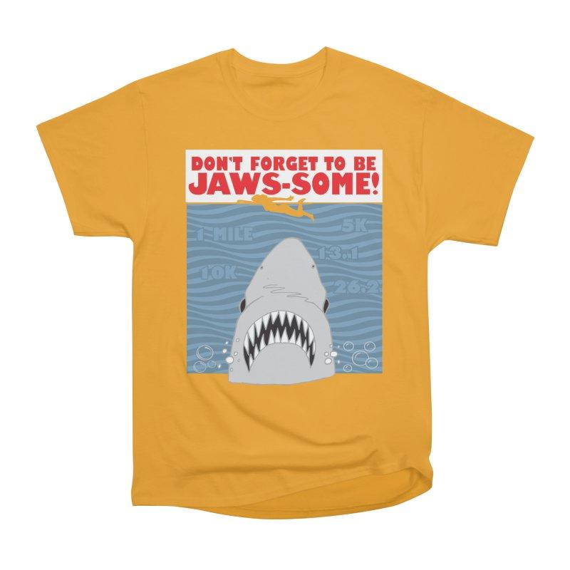 Shark Bait Hoo Ha Ha: Be JAWSome! Women's Heavyweight Unisex T-Shirt by Moon Joggers's Artist Shop
