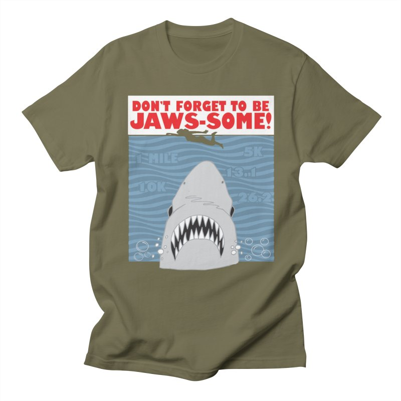 Shark Bait Hoo Ha Ha: Be JAWSome! Women's Regular Unisex T-Shirt by Moon Joggers's Artist Shop