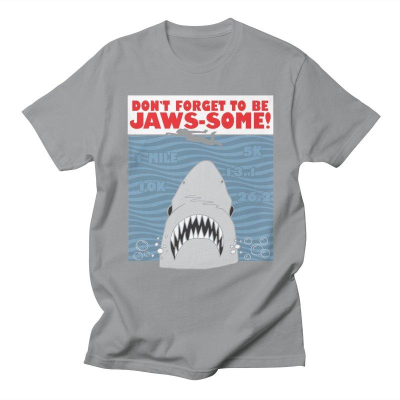 Shark Bait Hoo Ha Ha: Be JAWSome! Men's Regular T-Shirt by Moon Joggers's Artist Shop