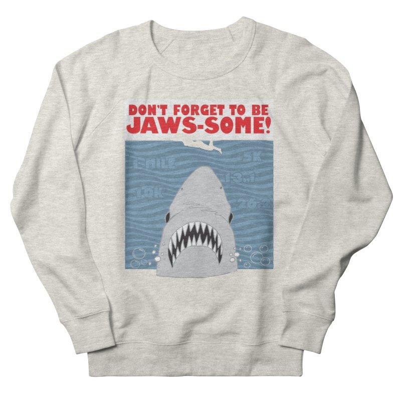 Shark Bait Hoo Ha Ha: Be JAWSome! Men's French Terry Sweatshirt by Moon Joggers's Artist Shop