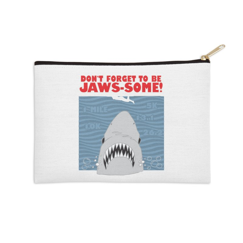 Shark Bait Hoo Ha Ha: Be JAWSome! Accessories Zip Pouch by Moon Joggers's Artist Shop