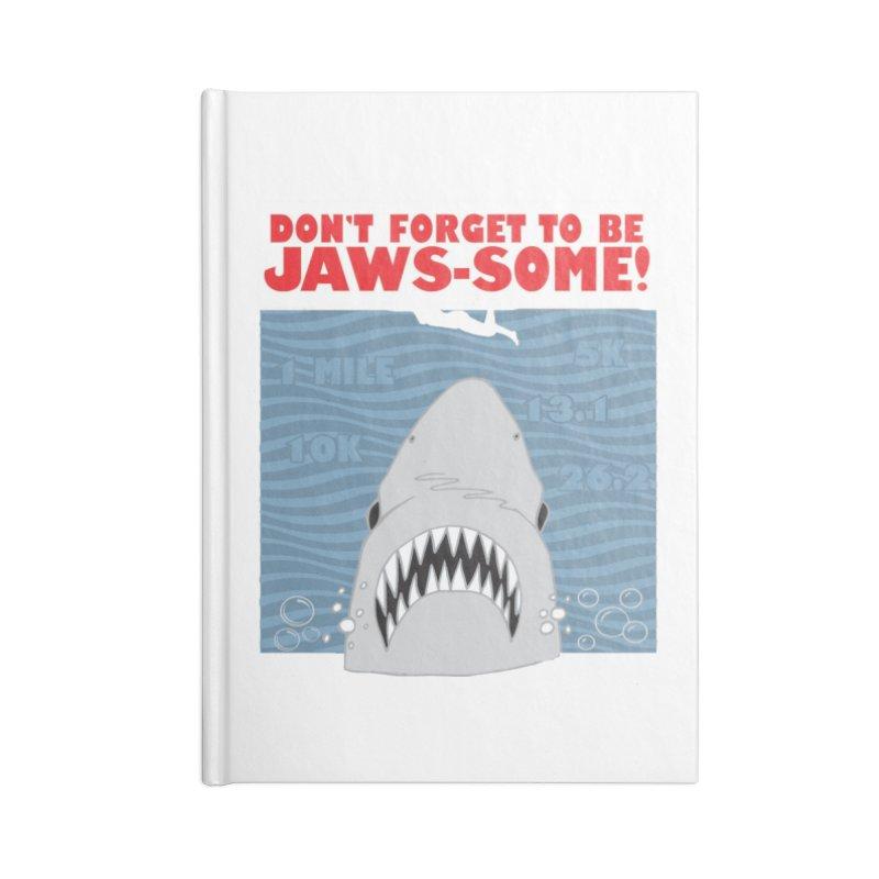 Shark Bait Hoo Ha Ha: Be JAWSome! Accessories Blank Journal Notebook by Moon Joggers's Artist Shop