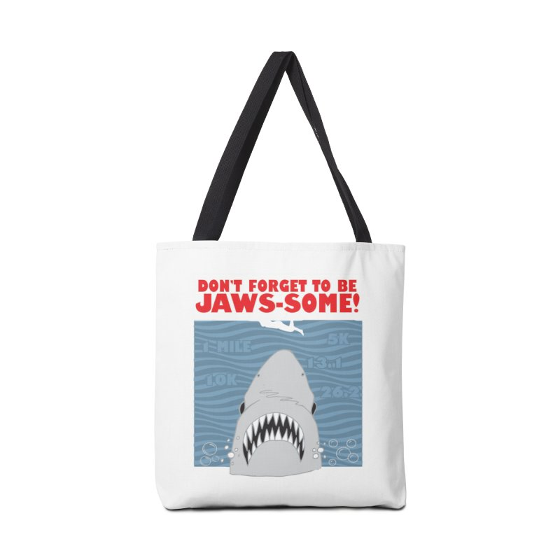 Shark Bait Hoo Ha Ha: Be JAWSome! Accessories Tote Bag Bag by Moon Joggers's Artist Shop