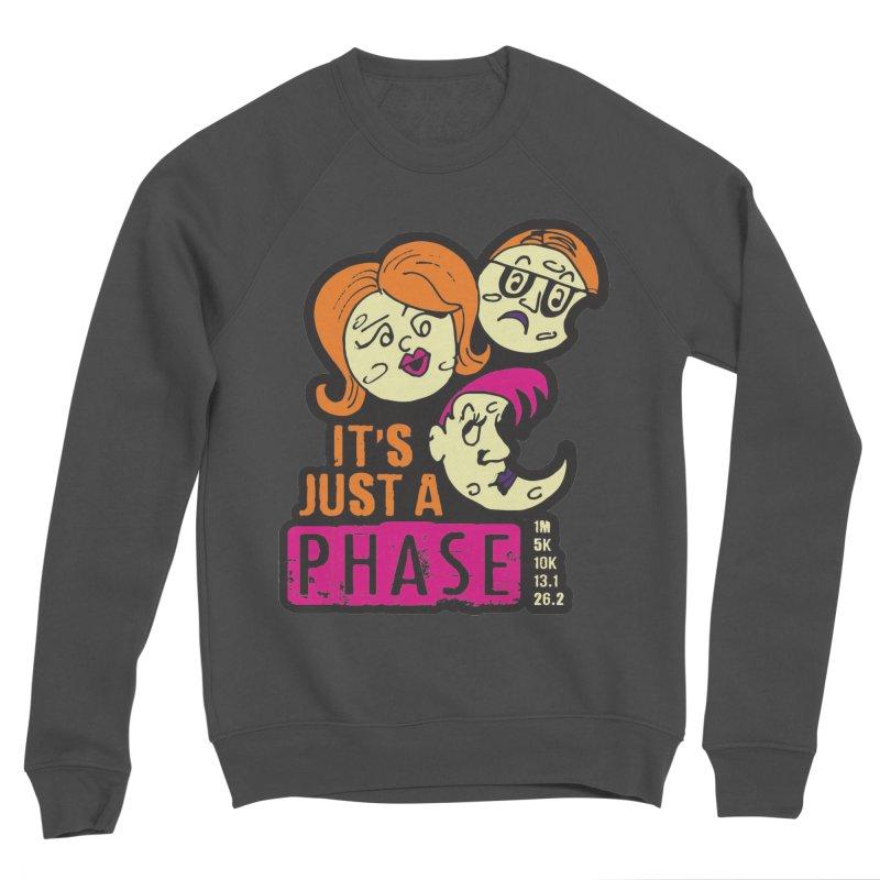 Moon Day - It's just a phase Men's Sponge Fleece Sweatshirt by Moon Joggers's Artist Shop