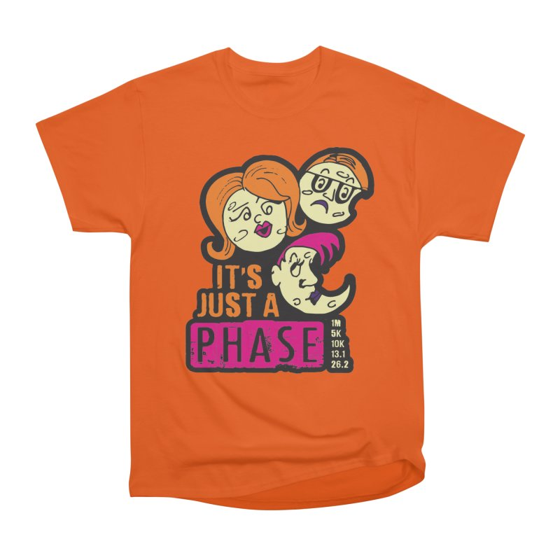 Moon Day - It's just a phase Women's Heavyweight Unisex T-Shirt by Moon Joggers's Artist Shop