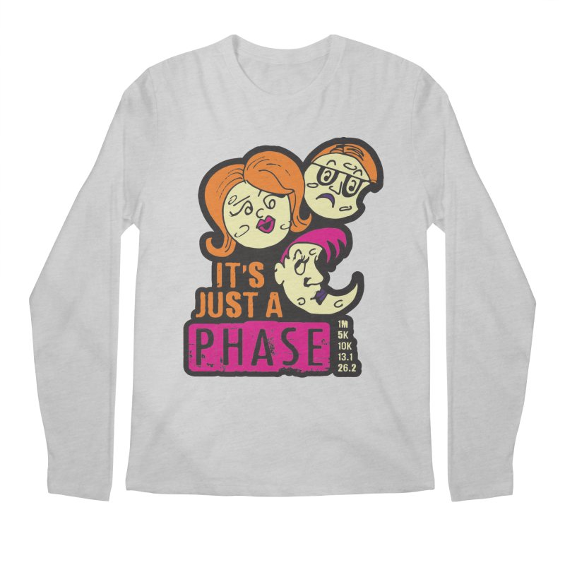 Moon Day - It's just a phase Men's Regular Longsleeve T-Shirt by Moon Joggers's Artist Shop