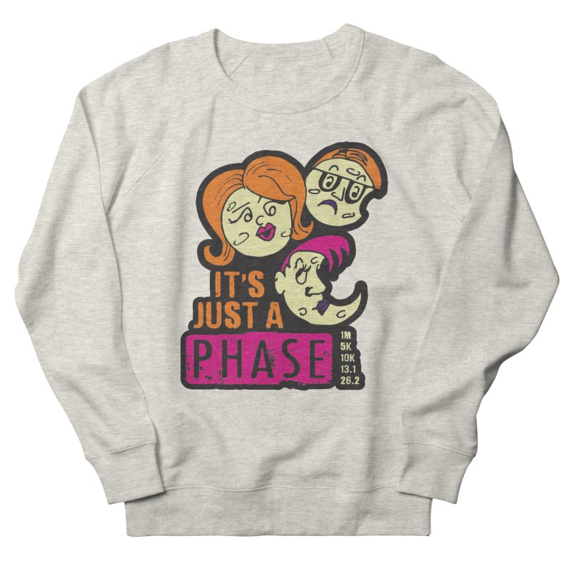 Moon Day - It's just a phase Men's French Terry Sweatshirt by Moon Joggers's Artist Shop