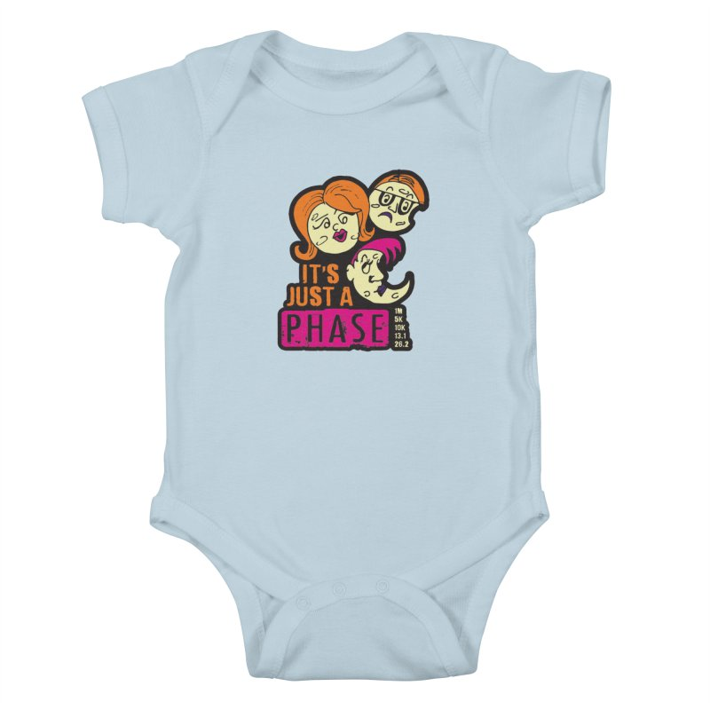 Moon Day - It's just a phase Kids Baby Bodysuit by Moon Joggers's Artist Shop
