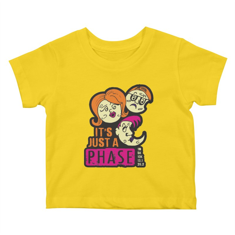 Moon Day - It's just a phase Kids Baby T-Shirt by Moon Joggers's Artist Shop